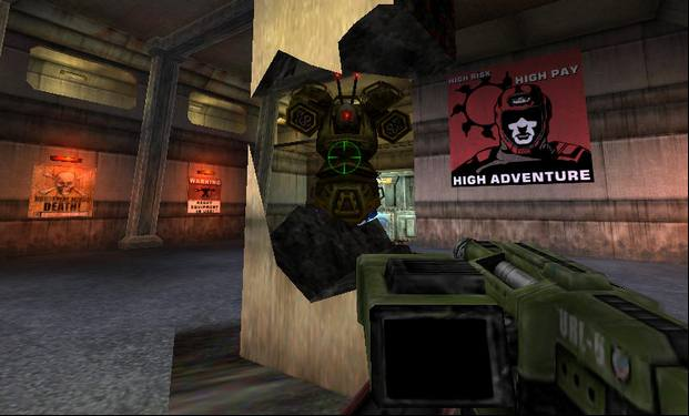 Red Faction 1 GeoMod